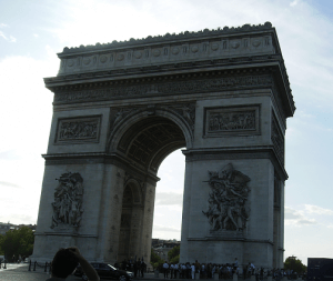 Weekend in Paris Arc de Triomphe
