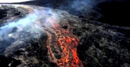 Kilauea Hawaii USA volcano lava